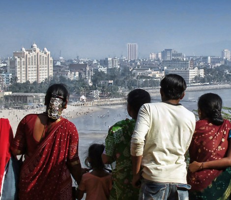 Mumbai's landscape from the Hanging Garden
